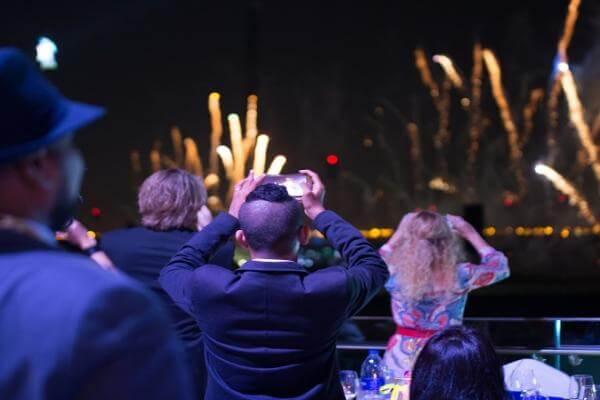 New Years Eve Fireworks View @ Meydan Hotel Dubai