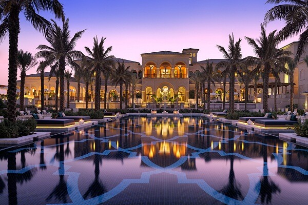 One and Only the Palm Resort Dubai