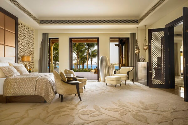 View Room at One and Only the Palm Resort Dubai