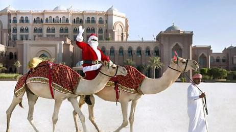 Santa Claus @ Emirates Palace Hotel Abu Dhabi