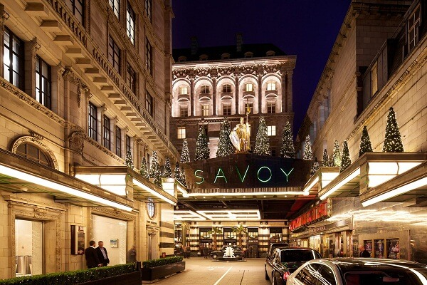 The Savoy Hotel London Celebration and Holidays