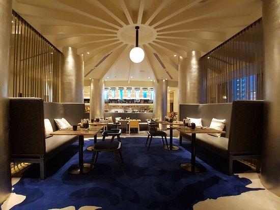 The Larder Restaurant at Radisson Blu Hotel Ajman
