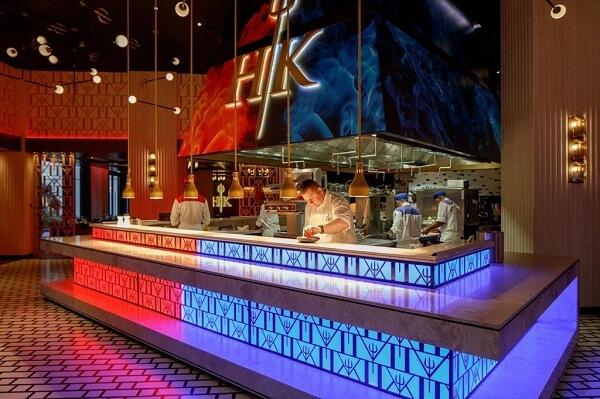 Hells Kitchen at Caesars Palace Bluewaters Dubai