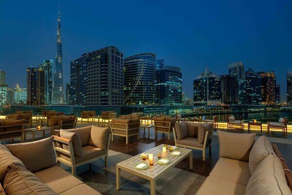 Fire Lake Grill House at Radisson Blu Hotel Dubai Waterfront