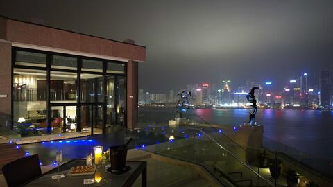 Presidential Suite at InterContinental Hong Kong Hotel