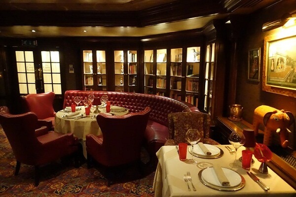 The Curry Room at The Rubens at the Palace London
