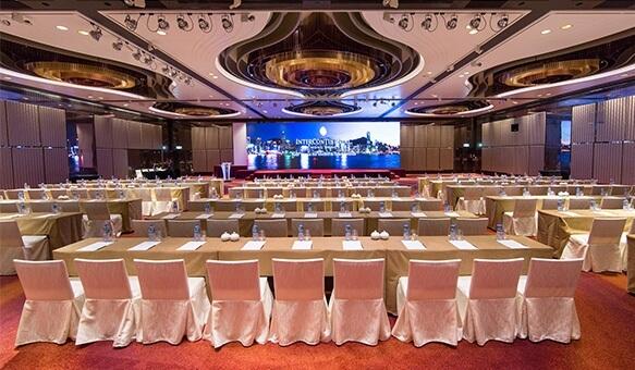 Ballroom at InterContinental Hong Kong Hotel