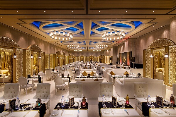 Ballroom at Marriott Marquis Doha Hotel