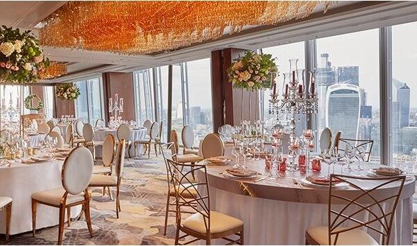 Ballroom at Shangri-La London at the Shard