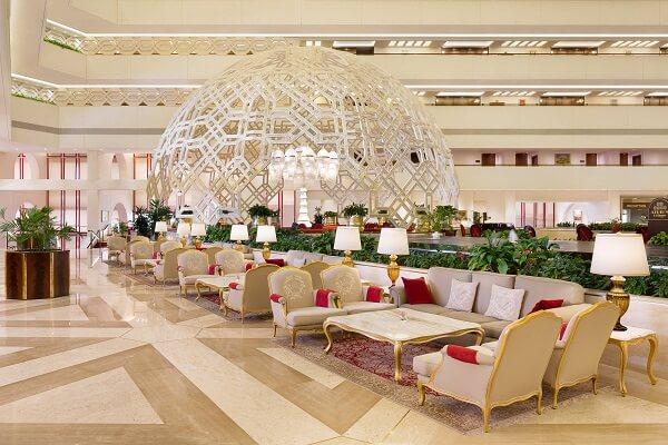 Restaurant at Sheraton Grand Doha Resort