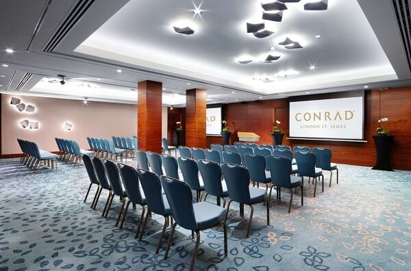 Event Space at Conrad London St. James