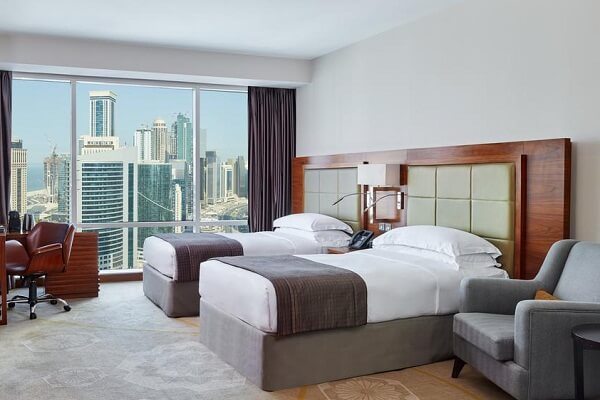 Guest Room at InterContinental Doha The City