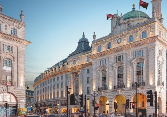 Hotel Cafe Royal London New Year's Eve 2020: Delicious Dinner and Amazing Entertainment