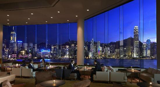 Lobby Lounge at InterContinental Hong Kong Hotel