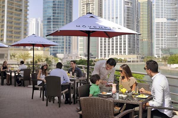 Nash Restaurant at Mövenpick Hotel Jumeirah Lakes Towers