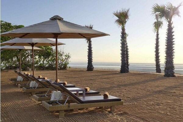 Relax at Beach of Novotel Bali Benoa