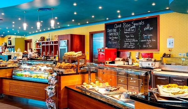 Restaurant at Marriott Marquis Doha Hotel