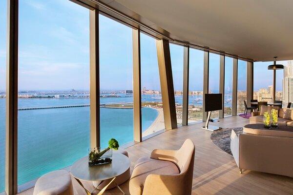 Best View from Rixos Premium Dubai JBR
