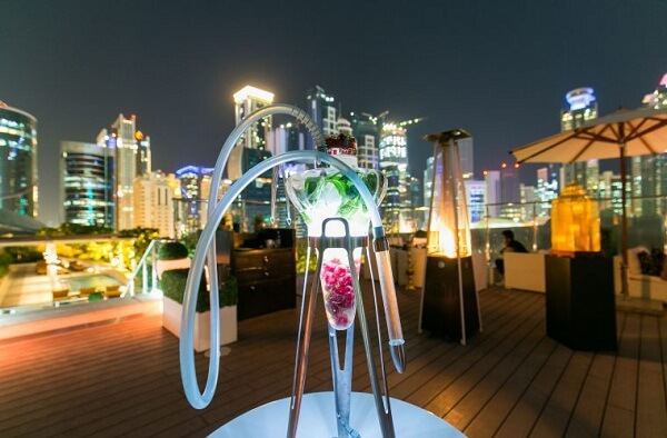 Rooftop at Marriott Marquis Doha Hotel