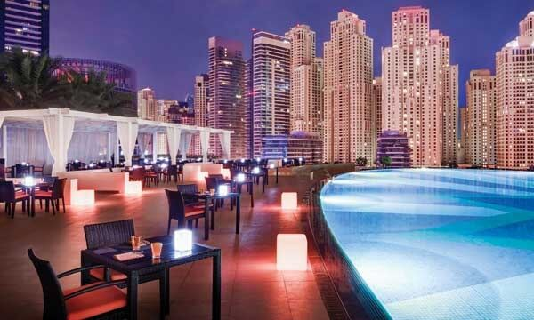 Rooftop Bar at Address Hotel Dubai Marina