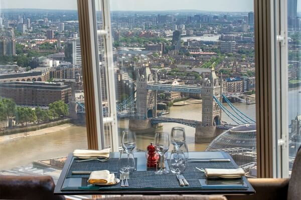 Tower Bridge London Best View from Shangri-La London at the Shard