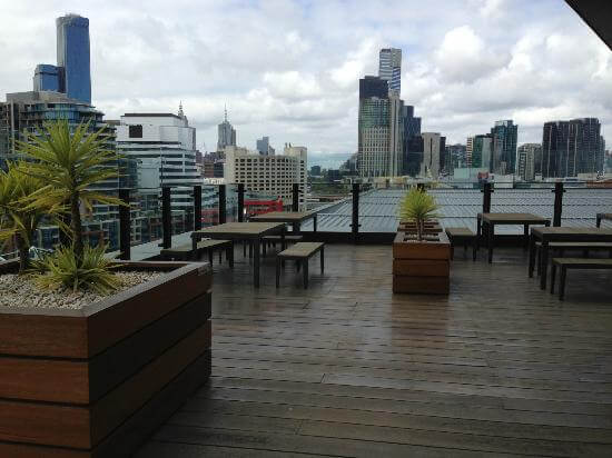 Terrace at Pan Pacific Hotel Melbourne