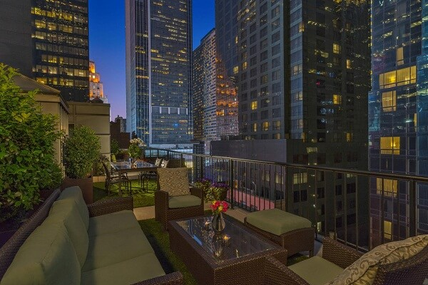 Terrace at the Chatwal Hotel New York City