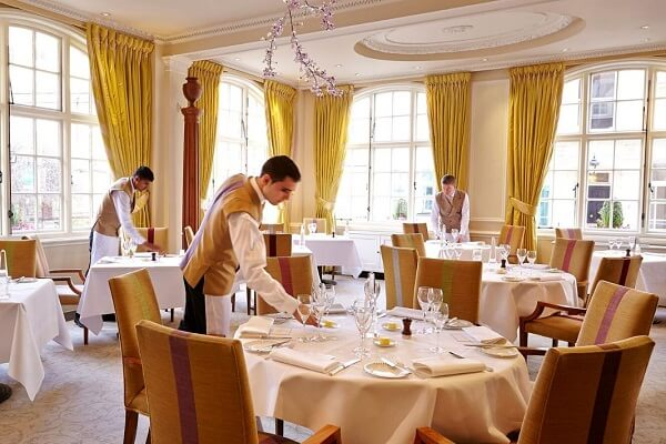 The Dining Room at The Goring London