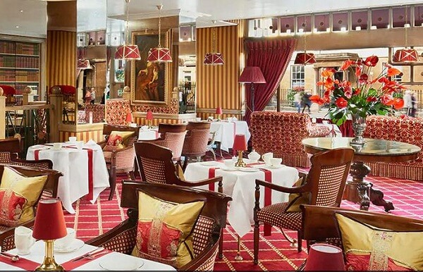 The Palace Lounge at The Rubens at the Palace London