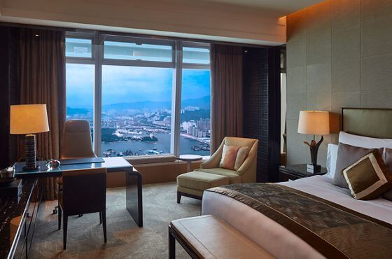 Deluxe Seaview Room at The Ritz-Carlton Hong Kong