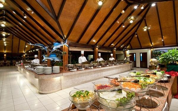 Restaurant at Paradise Island Resort Maldives