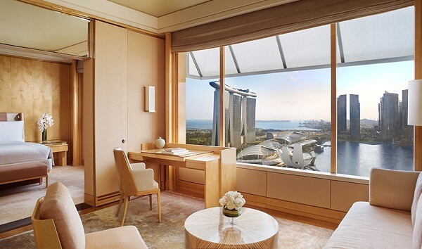 Premier Suite at The Ritz-Carlton Millenia Singapore