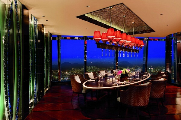 Tosca Di Angelo Restaurant at The Ritz-Carlton Hong Kong