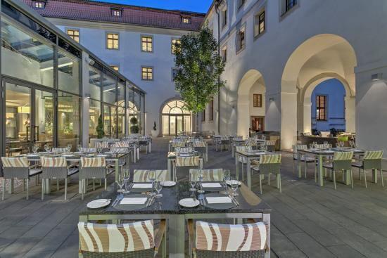 Augustine Restaurant at Augustine Prague Hotel