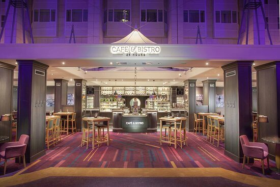 Cafe Bistro at Hilton Prague