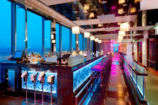 Cloud 9 Sky Bar and Lounge at Hilton Prague