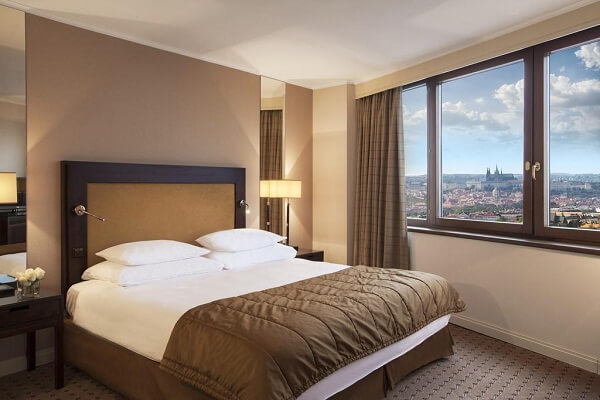 Guest Room at Corinthia Hotel Prague