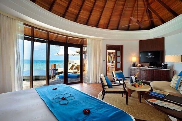 Inside Water Villa at Constance Halaveli Maldives