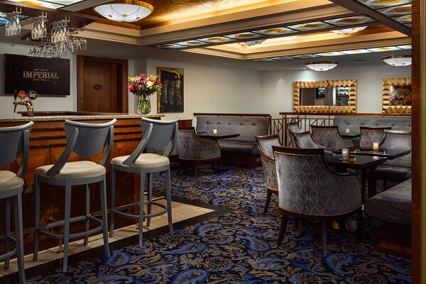 Lounge or Bar area at Art Deco Imperial Hotel Prague