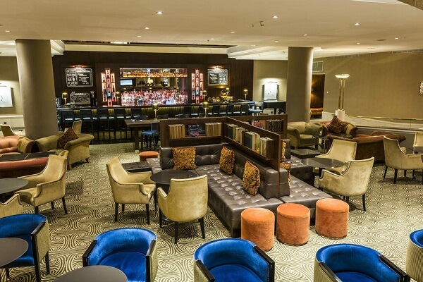 Lounge or Bar are at Prague Marriott Hotel