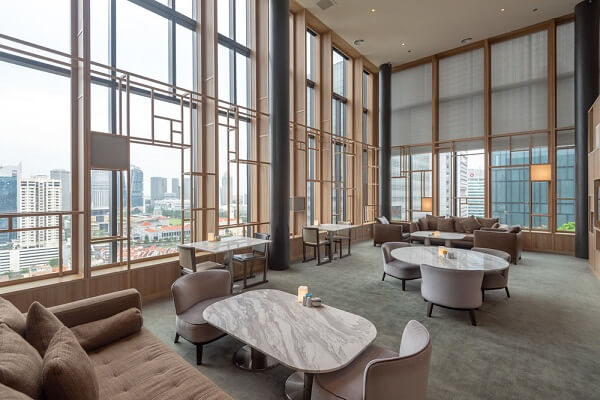 Orchid Club Lounge at PARKROYAL on Pickering Singapore