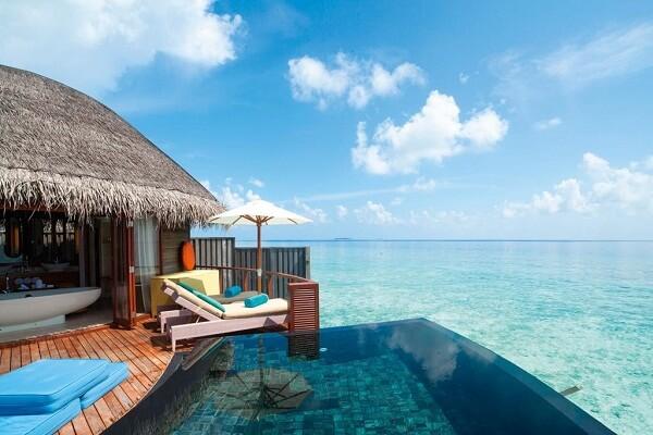 Overwater Villa at Constance Halaveli Maldives