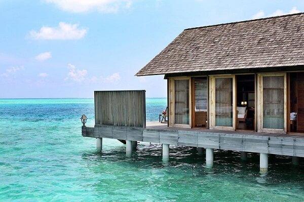 Overwater Villa at Gangehi Island Resort Maldives