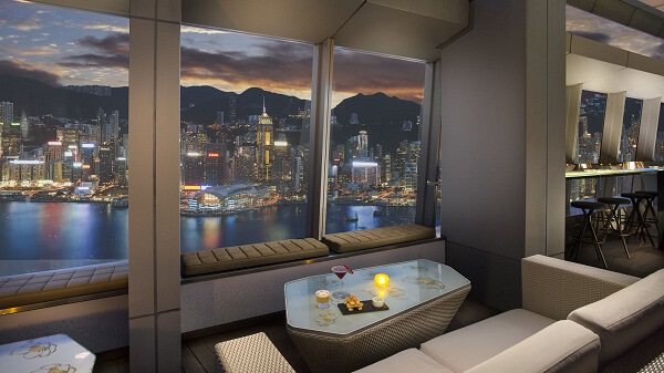 Ozone Bar at The Ritz-Carlton Hong Kong
