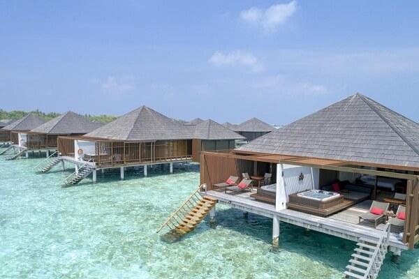 Water Villas at Paradise Island Resort Maldives