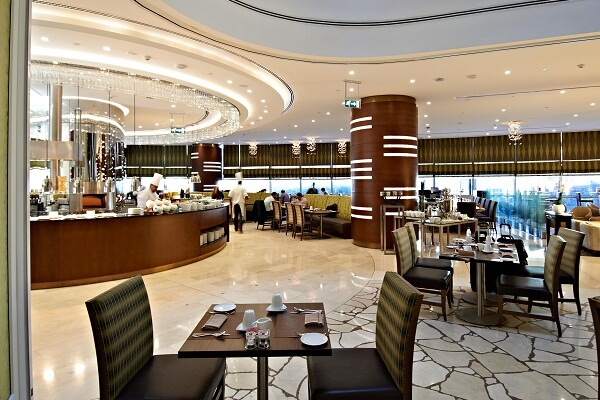Restaurant at Crowne Plaza Doha The Business Park