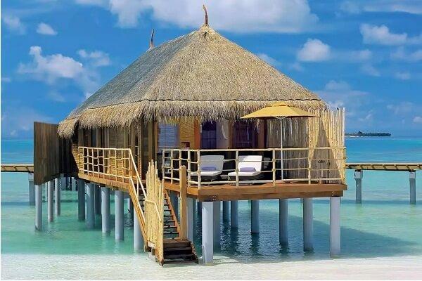 Water Villa at Constance Moofushi Maldives