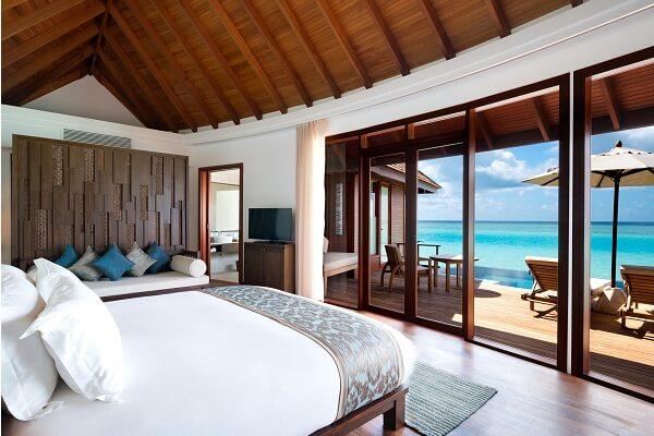 Overwater Villa at Anantara Dhigu Maldives Resort