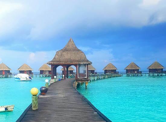 Overwater Villa at Thulhagiri Island Resort