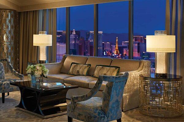 Presidential Strip-View Suite, The Four Seasons Las Vegas